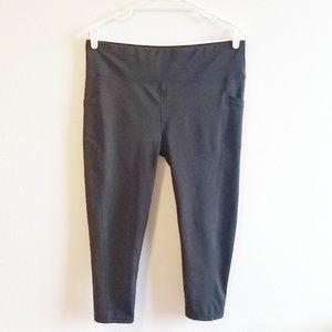 Ebb & Flow Cropped Athletic Legging w Pockets, XL